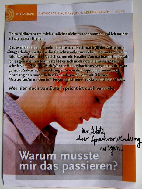 Werner Heukelbach - Gerade Du Brauchst Jesus